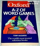 A-Z OF WORD GAMES - THE WORĹDS MOST TRUSTED REFERENCE BOOKS