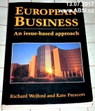 EUROPEAN BUSINESS - AN ISSUE-BASED APPROACH - PODEPSANÁ KNIHA