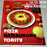PIZZA HAMBURGRY TOASTY
