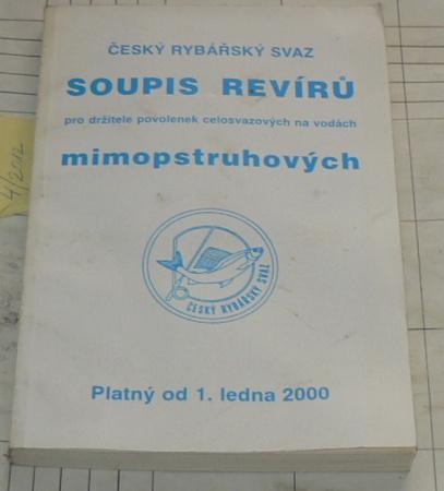 SOUPIS REVÍRŮ MIMOPSTRUHOVÝCH PLATNÝ OD 1. LEDNA 2000