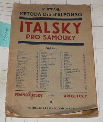 ITALSKY PRO SAMOUKY - METODA DRA D´ALFONSO