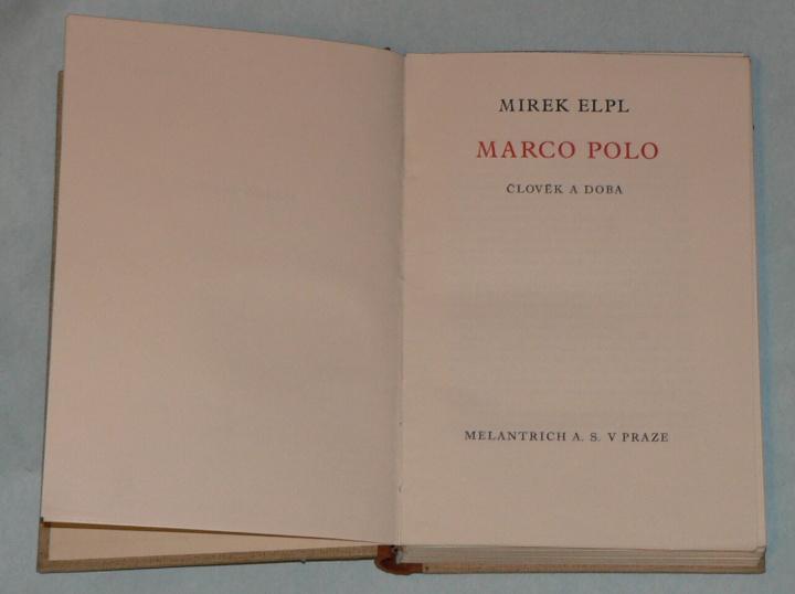 MARCO POLO - ČLOVĚK A DOBA