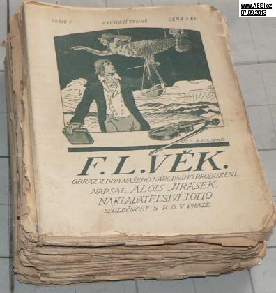 F.L. VĚK - vydání na pokračování