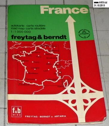 FRANCE AUTOKARTE 1:1 000 000 (AUTOMAPA)