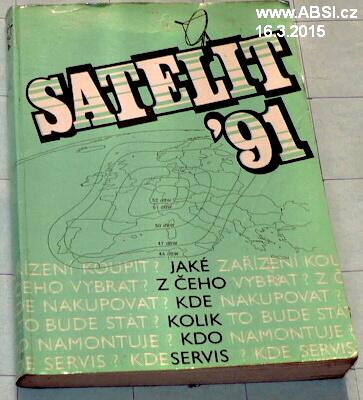SATELITY 91 - JAKÉ, Z ČEHO, KDE, KOLIK, KDO, SERVIS
