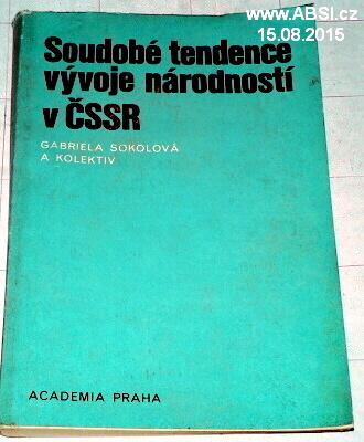 SOUDOBÁ TENDENCE VÝVOJE NÁRODNOSTÍ V ČSSR