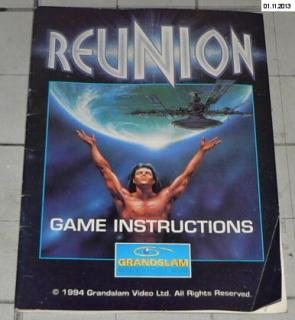 REUNION - GAME INSTRUCTIONS (MANUAL)