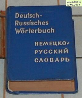 DEUTSCH-RUSSÍSCHES WORTERBUCH