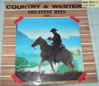 COUNTRY & WESTERN GREATES HITS III.