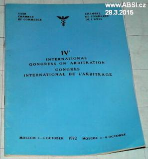 IV. INTERNACIONAL GONGRESS ON ARBITRATION