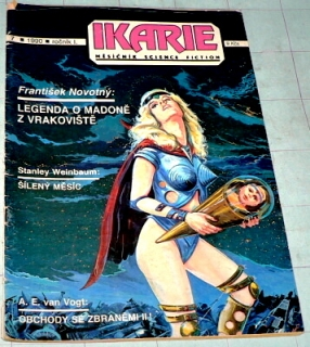 IKARIE - MĚSÍČNÍK SCIENCE FICTION