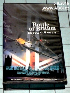 BATTLE OF BRITAIN - BITVA O ANGLII - VHS KAZETA