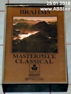 BRAHMS MASTERPIECE CLASSICAL