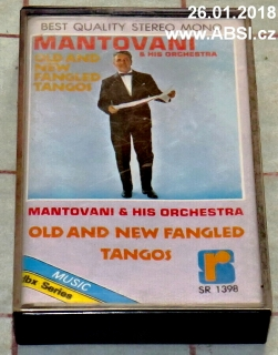 MANTOVANI & HIS ORCHESTRA OLD AND FANGLED TANGOS