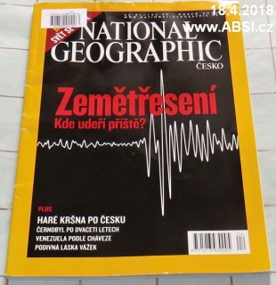 NATIONAL GEOGRAPHICduben 2006