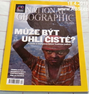 NATIONAL GEOGRAPHIC duben 2014