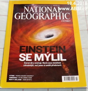 NATIONAL GEOGRAPHIC březen 2014