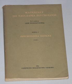 MATERIALY DO NAUCZANIA PSYCHOLOGII