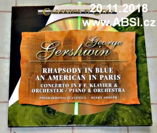 GEORGE GERSHWIN - RABSODY IN BLUE AN AMERICAN IN PARIS