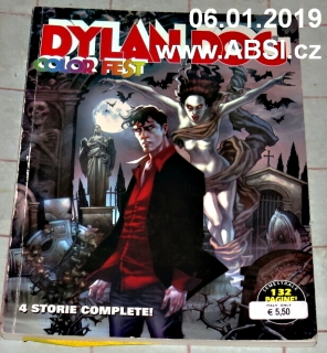 DYLAN DOG COLOR FEST - 4 STORIE COMPLETE !