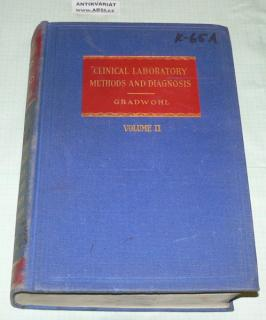 CLINICAL LABORATORY METHODS AND DIAGNOSIS - VOLUME II