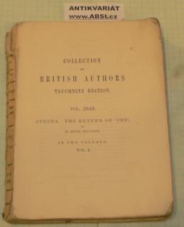 COLLECTION OF BRITISH AUTORS vol. 3848