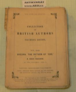 COLLECTION OF BRITISH AUTORS vol. 3849